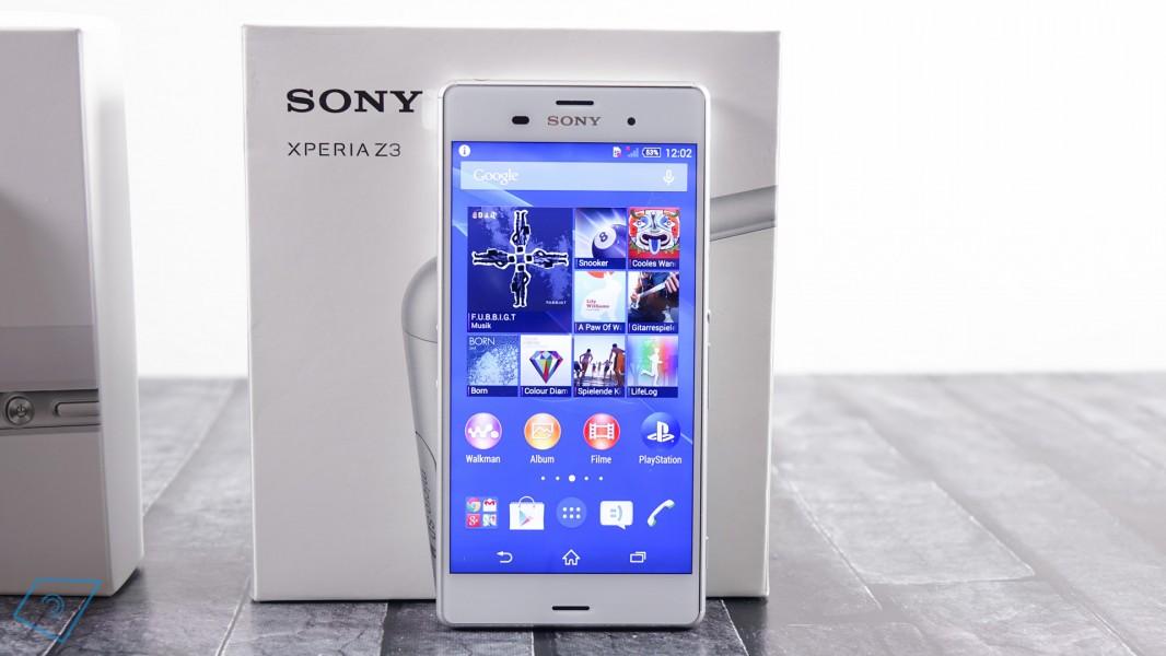 sony xperia z3 le meilleur smartphone du moment meilleur mobile. Black Bedroom Furniture Sets. Home Design Ideas