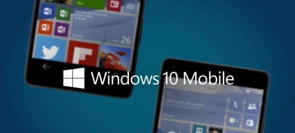 Windows 10 : pas avant septembre sur smartphone !