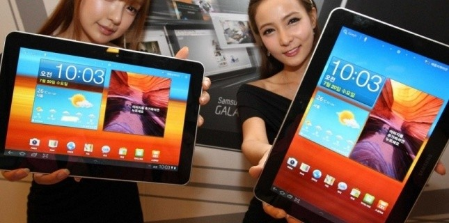 comparatif des tablettes samsung