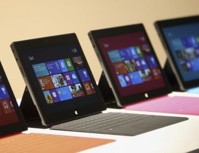 Microsoft, quelle tablette tactile choisir ?