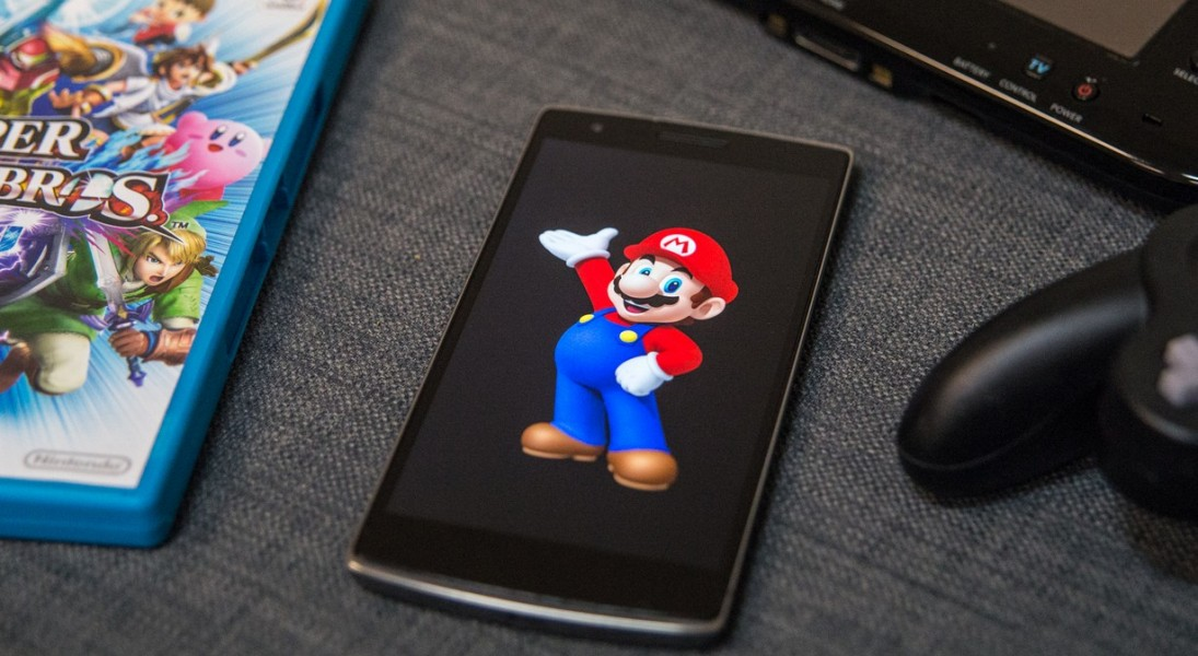 mario smartphone