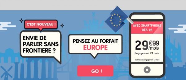 NRJ Mobile pr�sente un forfait mobile sp�cial Europe