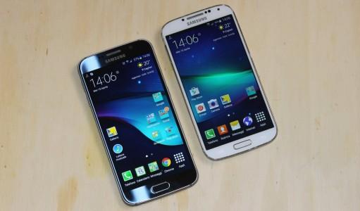 Samsung Galaxy S6 vs S4 , le comparatif