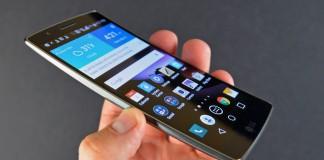 LG G FLEX 2 meilleur smartphone
