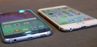 Samsung galaxy S6 Iphone 6