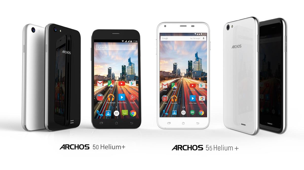 archos pr sente deux nouveaux smartphones entr e de gamme meilleur mobile. Black Bedroom Furniture Sets. Home Design Ideas