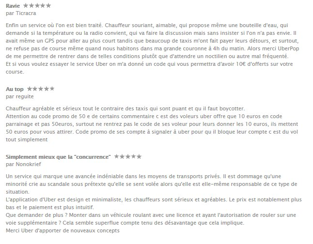 commentaire-uber-taxi-utilisateur-android-apple-ios