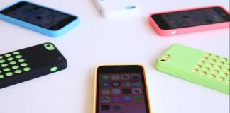 iphone 5c avec coque