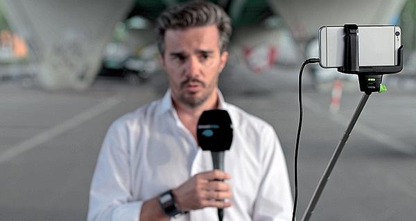iphone 6 Plus JT caméra télévision