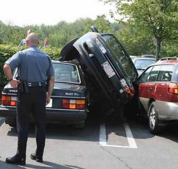 sms voiture accrochage