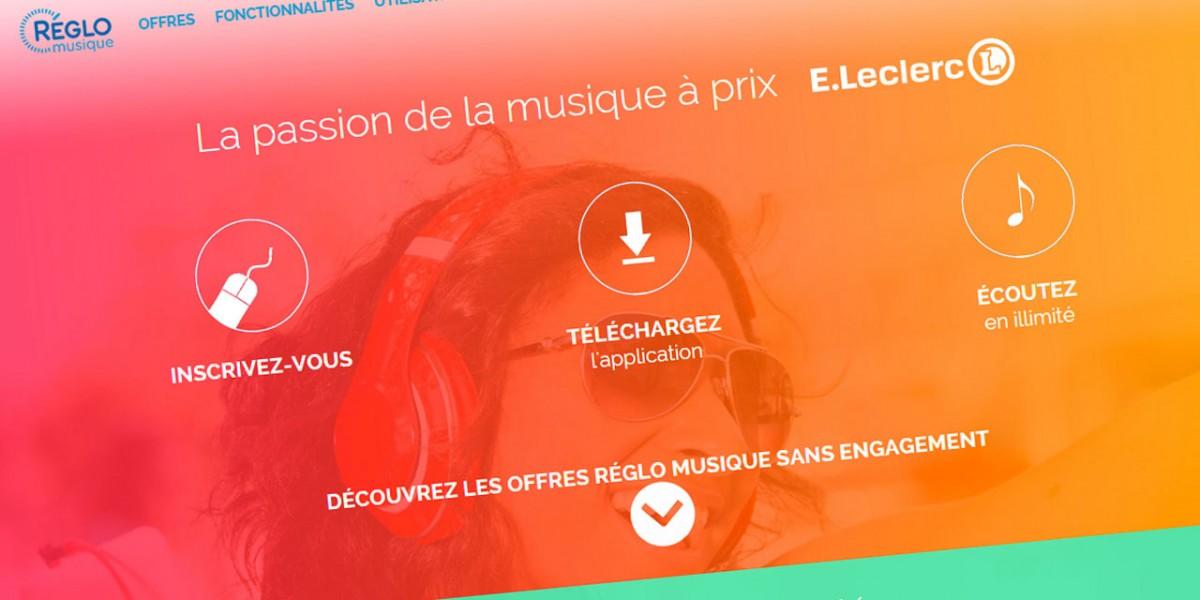 E. Leclerc streaming-musical reglo