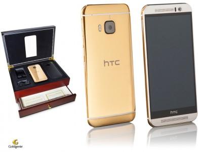 Un HTC One M9 qui vaut de l'or !