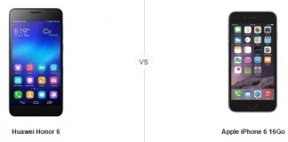 Honor 6 vs iPhone 6