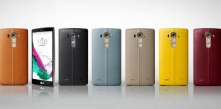 LG G4 coloris