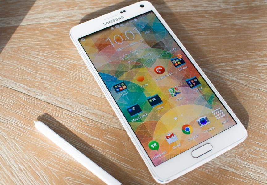 Samsung galaxy note 4 blanc