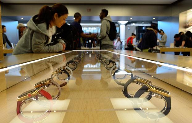 apple watch ventes écrase marché montre connectée