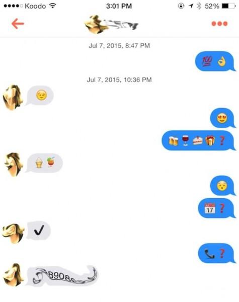 drague tinder emoji