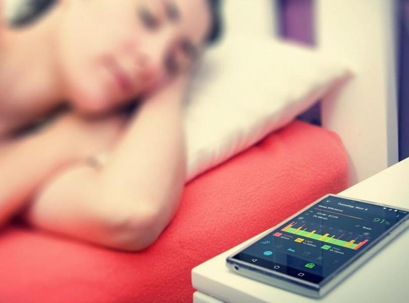 endormi smartphone