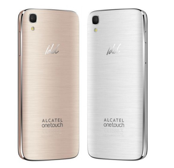 Alcatel Onetouch Idol Soft Gold Design Smartphone in the Test