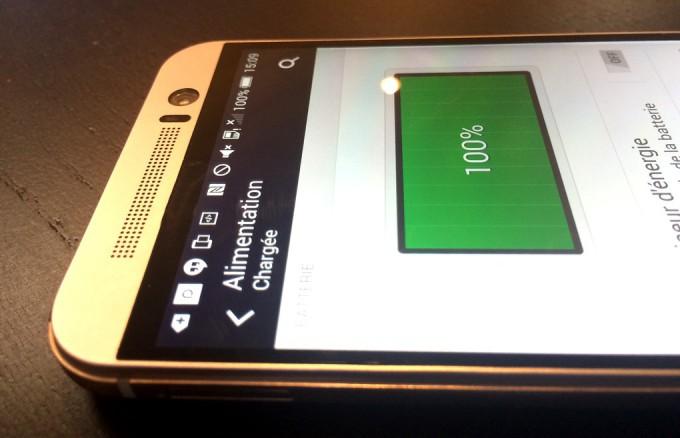 htc-one-m9- problème de batterie