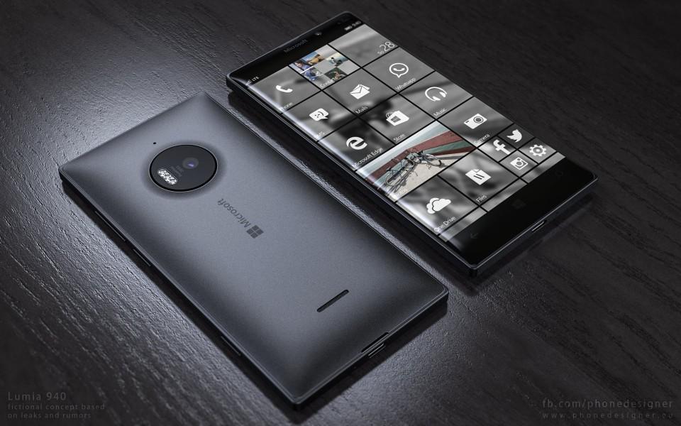 microsoft lumia 940 noire