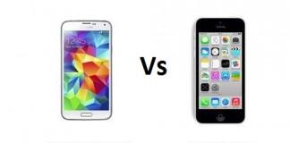 samsung galaxy S5 mini vs iphone 5c,