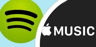 spotifiy et apple Music