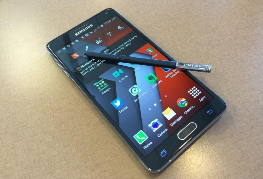Samsung galaxy note 4 noir stylet