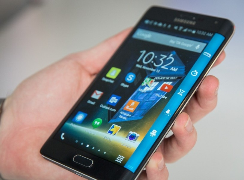 Samsung galaxy note edge noir