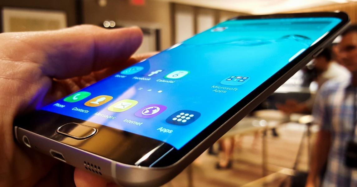 Samsung galaxy s6 edge plus doigt