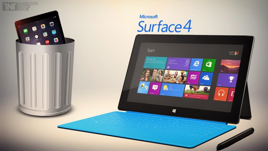 Partager la publication quot;La Microsoft Surface Pro 4 pour le mois d