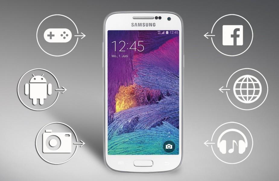 samsung galaxy s4 mini plus fonction