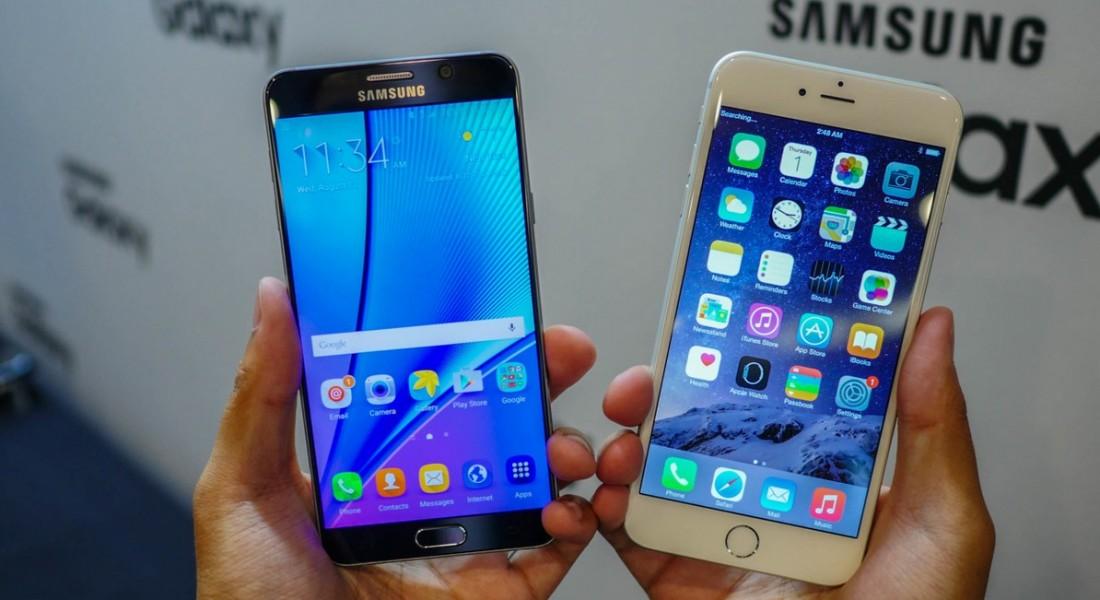 samsung galaxy s6 edge plus vs iPhone 6 Plus