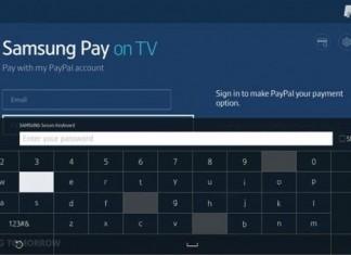 samsung pay télévision