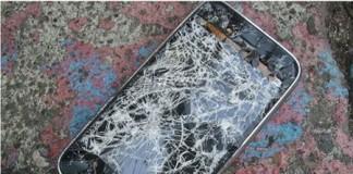 smartphone céran cassé première cause de panne