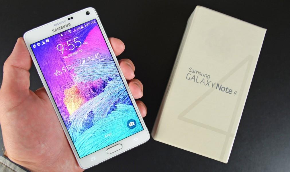 Samsung galaxy note 4 blanc meilleur