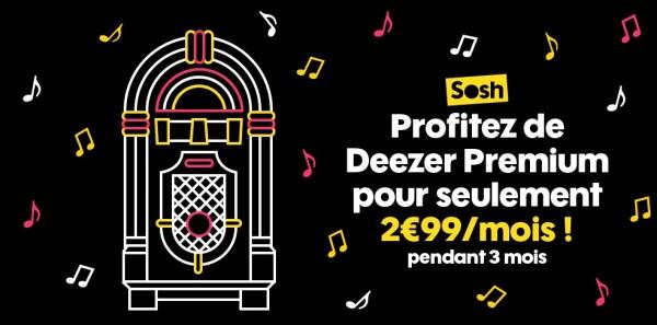 Sosh deezer premium