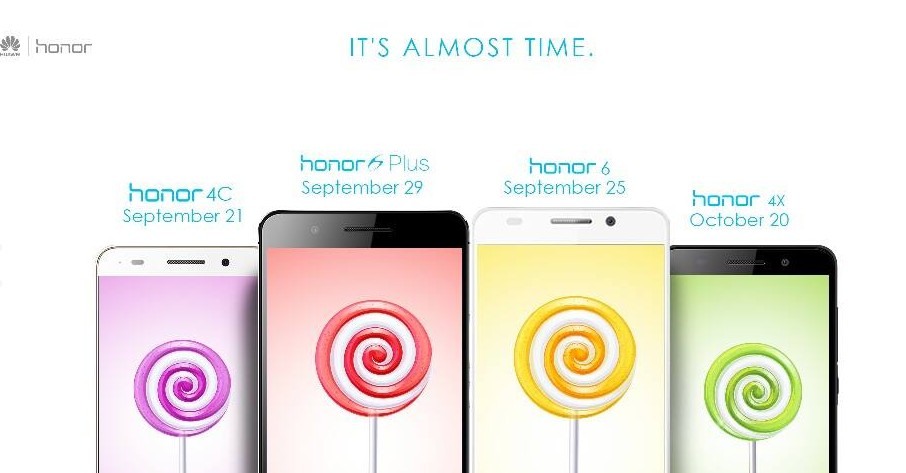 honor 4x date android 5.0