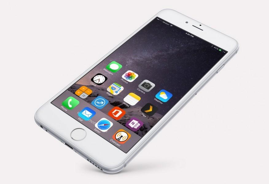 iphone 6 incliné