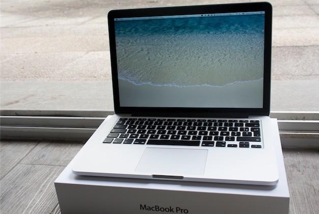 macbook pro boite