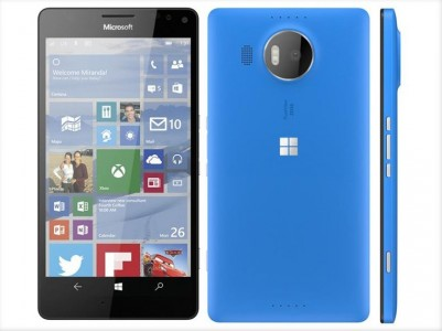 microsoft lumia 950 bleu