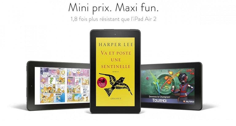 amazon lance une tablette 50 meilleur mobile. Black Bedroom Furniture Sets. Home Design Ideas