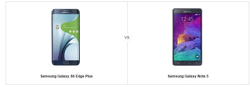 Samsung Galaxy S6 Edge Plus vs note 5