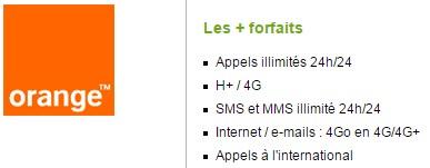 Forfait Orange Open Play Fibre illimité 4Go sans mobile engagement 12 mois