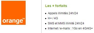 Forfait Orange Open Zen Fibre illimité 1Go sans mobile engagement 12 mois