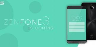 asus zenfone 3 coming