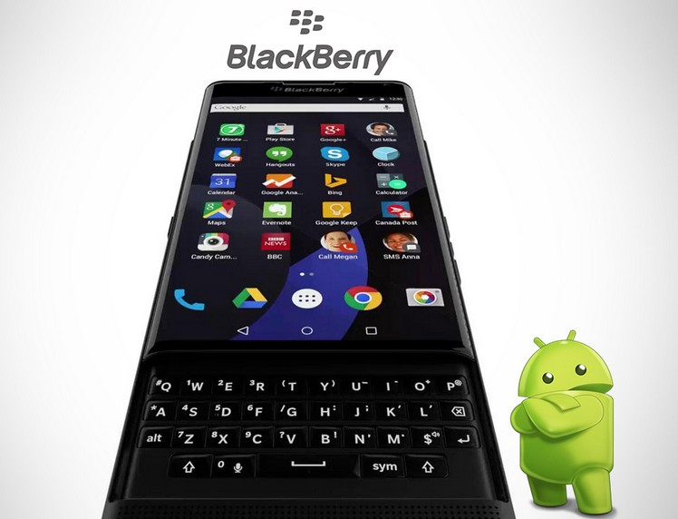 blackberry venice android