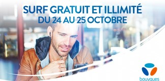 Bouygues Telecom propose à ses clients le temps d'un week-end, d'obtenir la data en illimité ! Le rendez-vous est à prendre le 24 et 25 octobre 2015.