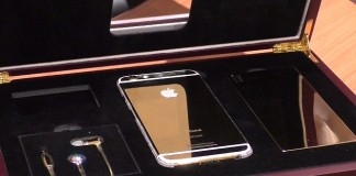 iphone 6 or coffret
