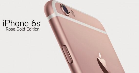 iPhone 6S, l'or rose cartonne